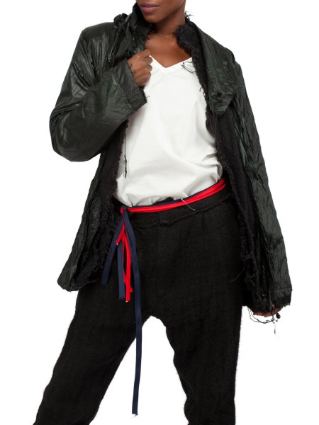 Black Jute Jacket