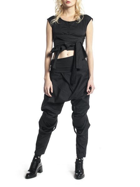 Black Loose Fit Pants