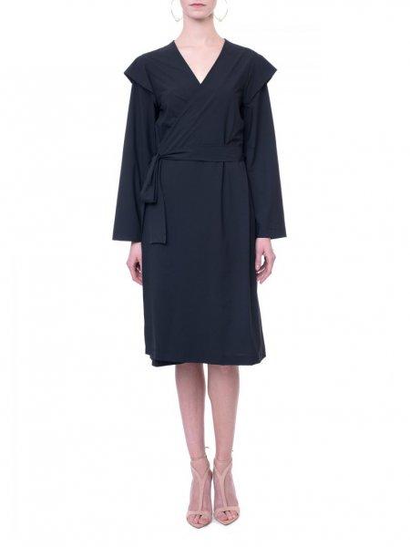 Black Wrap Kimono