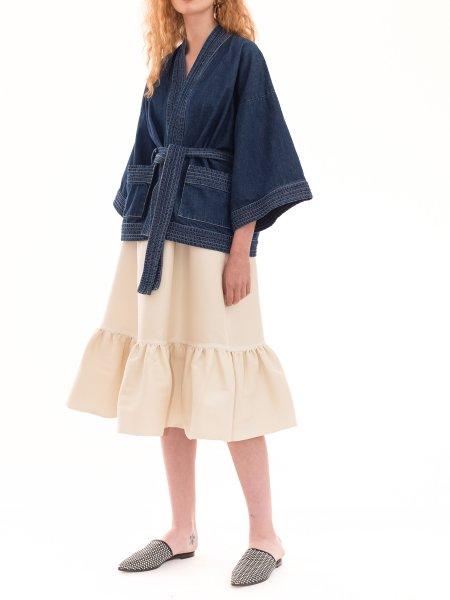 Blue Denim Kimono