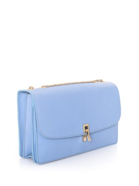 Blue Shouder Bag