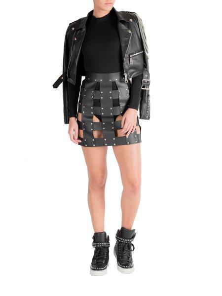 Crop Leather Jacket