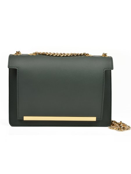 Dark Green Handcrafted Mini Bag