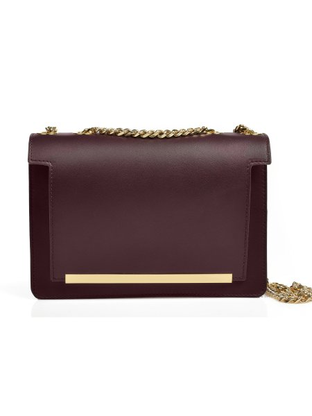Dark Violet Handcrafted Mini Bag