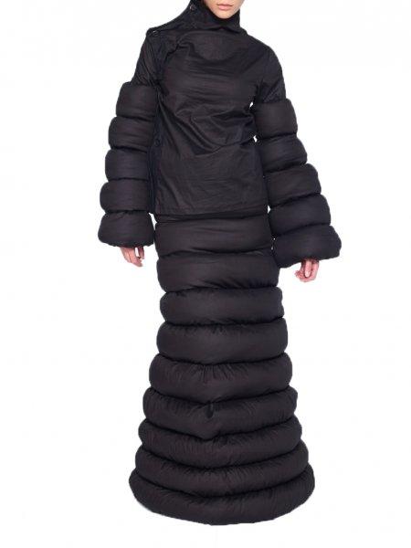Deconstructive Black Jacket
