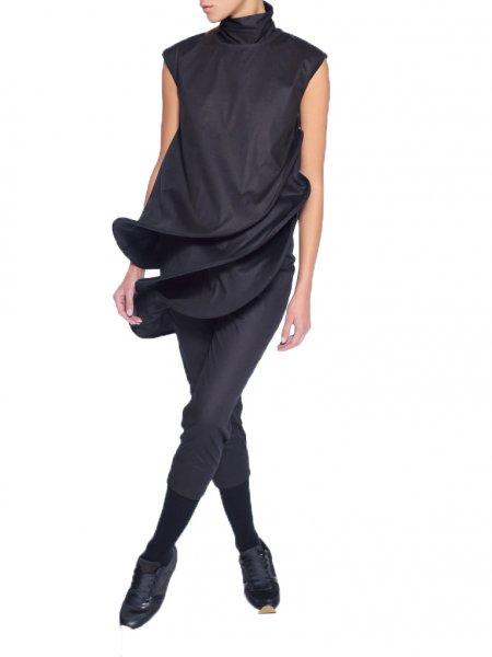 Deconstructive Black Jumpsuit