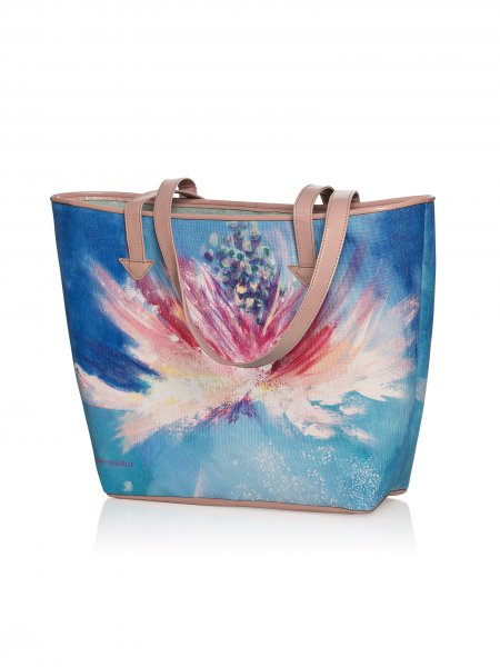 Flowers Of Wisdom Shoulder Bag