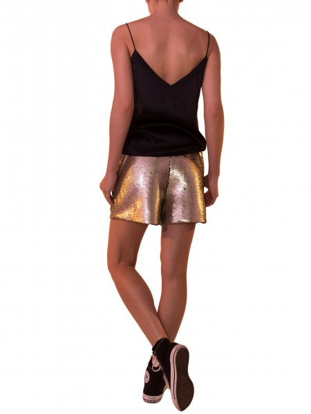 Gold Sequined Pants