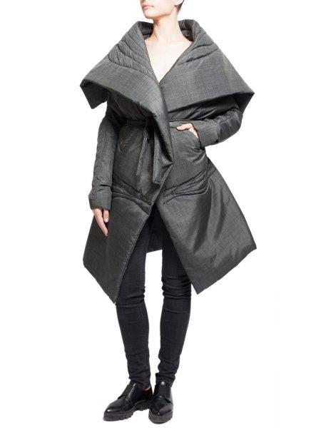 Grey Long Jacket