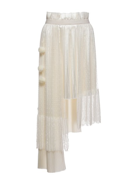 Ivory Laced Skirt