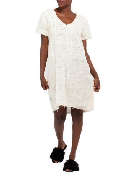 Light Beige Cotton Dress