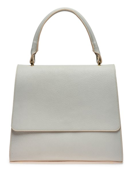 Light Grey Handcrafted Mini Bag