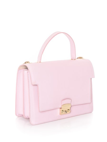 Light Pink Leather Bag