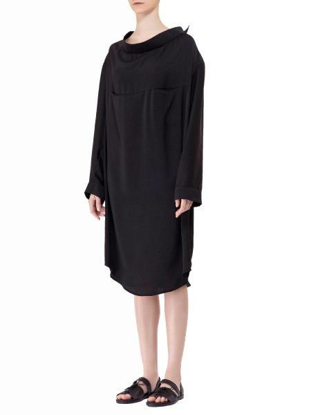 Loose Fitting Silk Dress