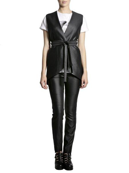 Metallic Cotton Vest