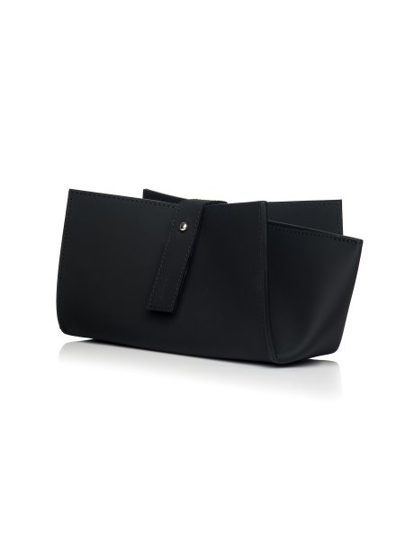 Origami Recycled Leather Clutch
