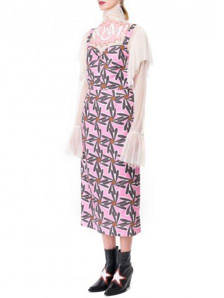 Peggy Flower Print Midi Dress
