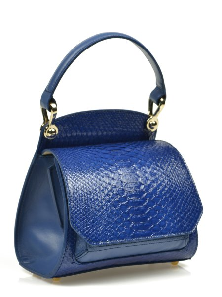 Petrol Blue Handcrafted Bag