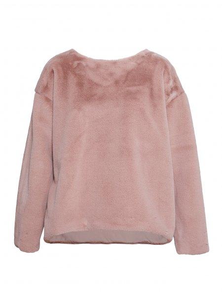 Pink Fluffy Sweatshirt