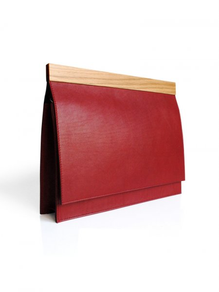 Red Handcrafted Bag