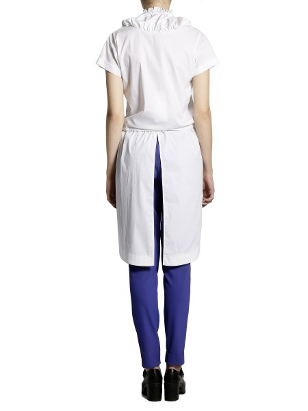 Short Sleeve Casual White Shirt
