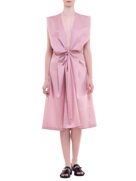 Soft Pink Silk Dress
