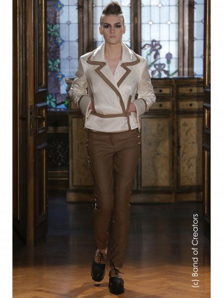Synthetic Leather Trousers