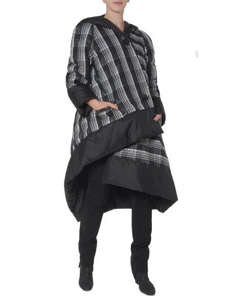 Two-Faced Long Asymmetric Slicker Jacket