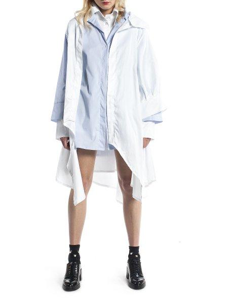 White Deconstructed Shirt