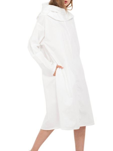 White Oversized Dress