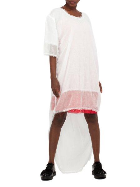 White Soft Cotton Long T-Shirt