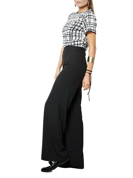 Wide Leg Overlay Tousers